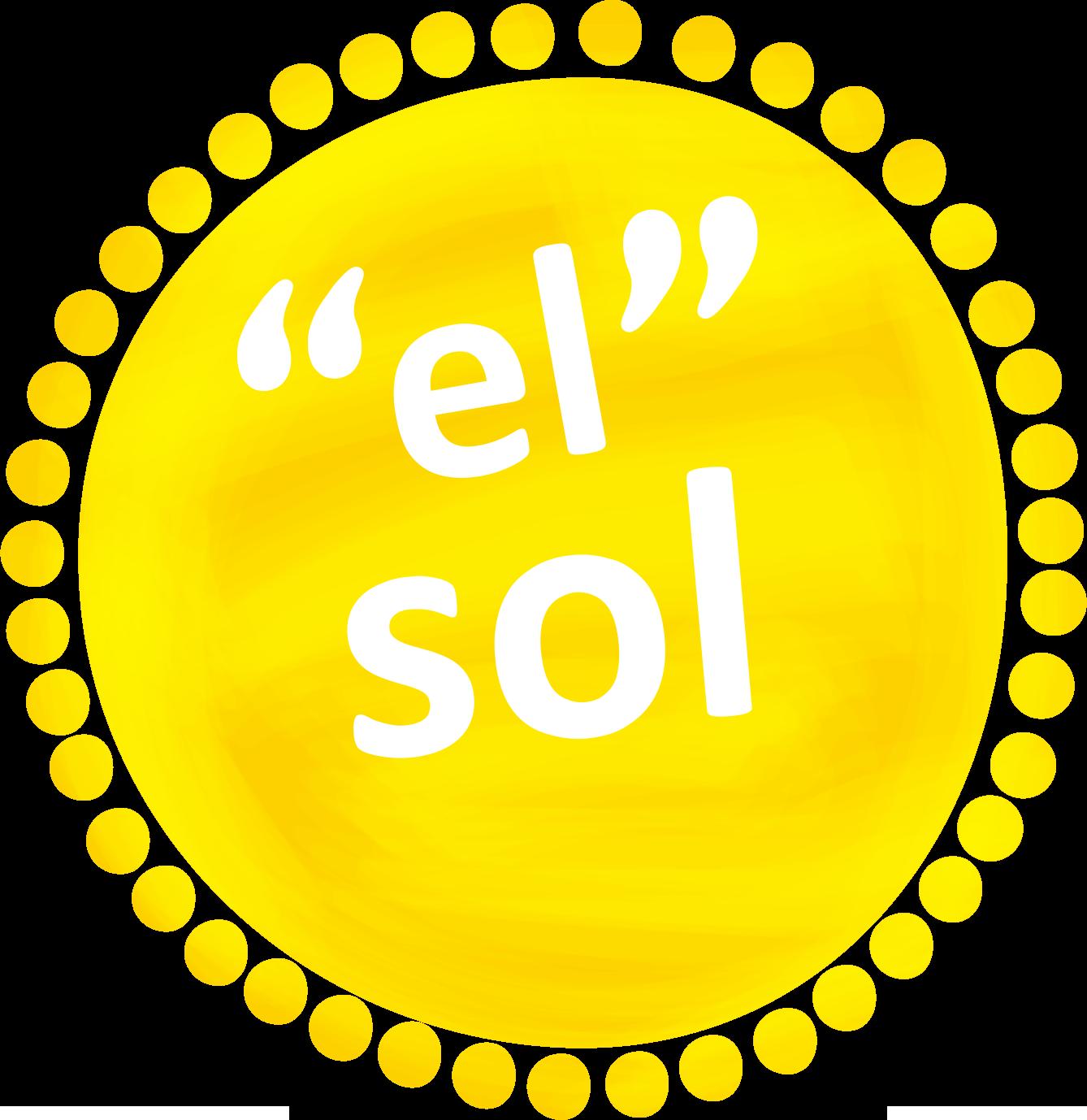 """""""el"""" sol"""